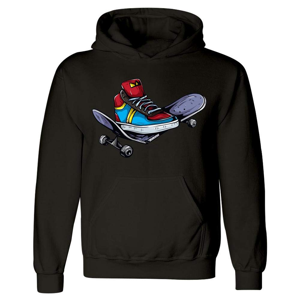 Smashing Skateboard Hoodie Peyton Winks Skate and Destroy