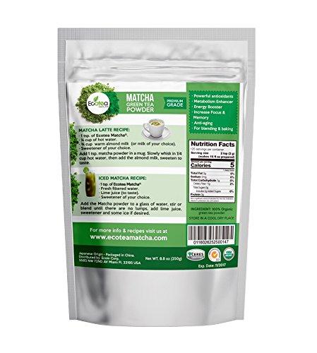 ecotea matcha Green Tea