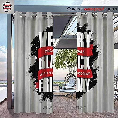 Exterior/Outside Curtains Black-Friday-sale-inscription-best-design-template--Black-Friday-banner--poster--badge--sticker--web-advertising-vector-illustration10.jpg for Patio Light Block Heat