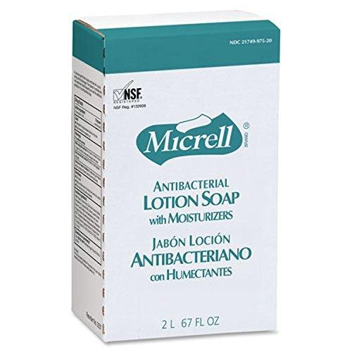 (Gojo Industries, Inc Micrell NXT Maximum Capacity Antibacterial Lotion Soap Refill)