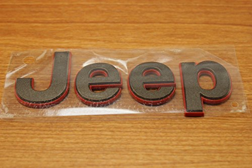 Jeep Patriot Bronze 75th Anniversary Edition Front Hood Emblem Nameplate OEM