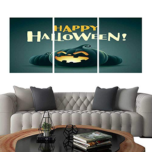 UHOO Canvas Print Wall Art Happy Halloween! Halloween Pumpkins 2. Art Stickers 16