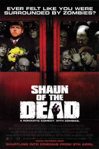 Image result for shaun of the dead poster