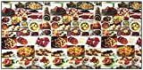 Fay's Deli Jewish Food Fabric