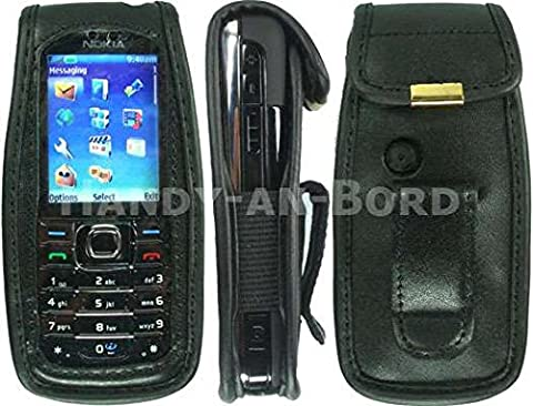 caseroxx Leather-Case with belt clip for Nokia 6233 / 6234 made of real leather with belt-clip in (Nokia 6233 Case)