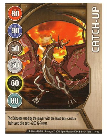 Bakugan Card: Catch Up