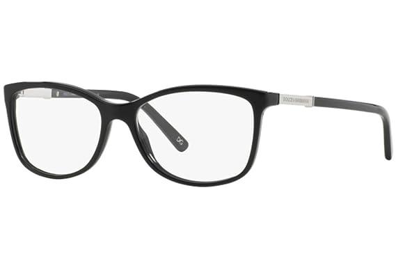 DOLCE & GABBANA Dolce & Gabbana Damen Brille »LOGO PLAQUE DG3107«, schwarz, 501 - schwarz