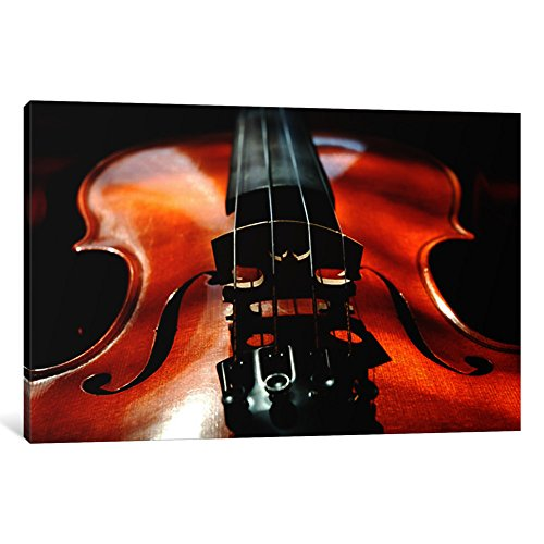 iCanvasART 1-Piece Violin Canvas Print by Unknown Artist, 1.5 by 40 by 26-Inch