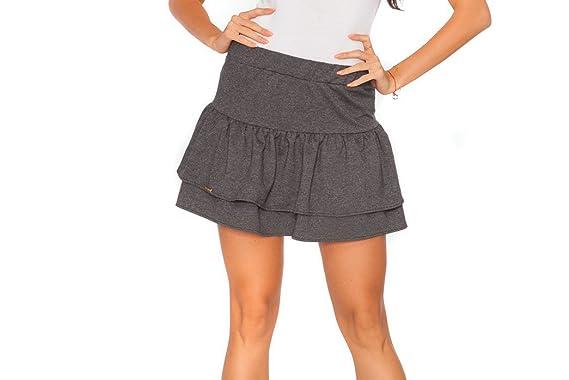e6f66a59dc3 Futuro Fashion® tendance pour femme Mini jupe avec volants Fa401   Amazon.fr  Vêtements et accessoires
