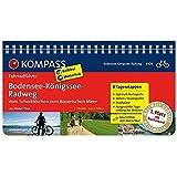 Bodensee-Königssee-Radweg - Vom Schwäbischen zum Bayerischen Meer: Fahrradführer mit Routenkarten im optimalen Maßstab. (KOMPASS-Fahrradführer, Band 6426)
