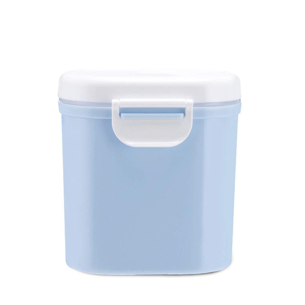 contenedor Organizador Tanque Caja de recepci/ón Gugutogo Caja de Almacenamiento sellada port/átil al Aire Libre de Gran Capacidad para beb/és Leche en Polvo para beb/és