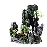 "Product review for Aquarium Ornament Decoration Rock Stone Mountain View Cave size 6.5"""