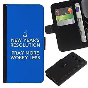 All Phone Most Case / Oferta Especial Cáscara Funda de cuero Monedero Cubierta de proteccion Caso / Wallet Case for Samsung Galaxy S3 III I9300 // BIBLE Pray More