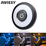 Trunk Lights - Viesyled USB Rechargeable Car Interior Led Trunk Cargo Area Light,12V Bright Multi-Function Wall Light Stick on Anywhere Push Lamps for Vehicle RV Camping Bedroom Cabinet (3 Colors)