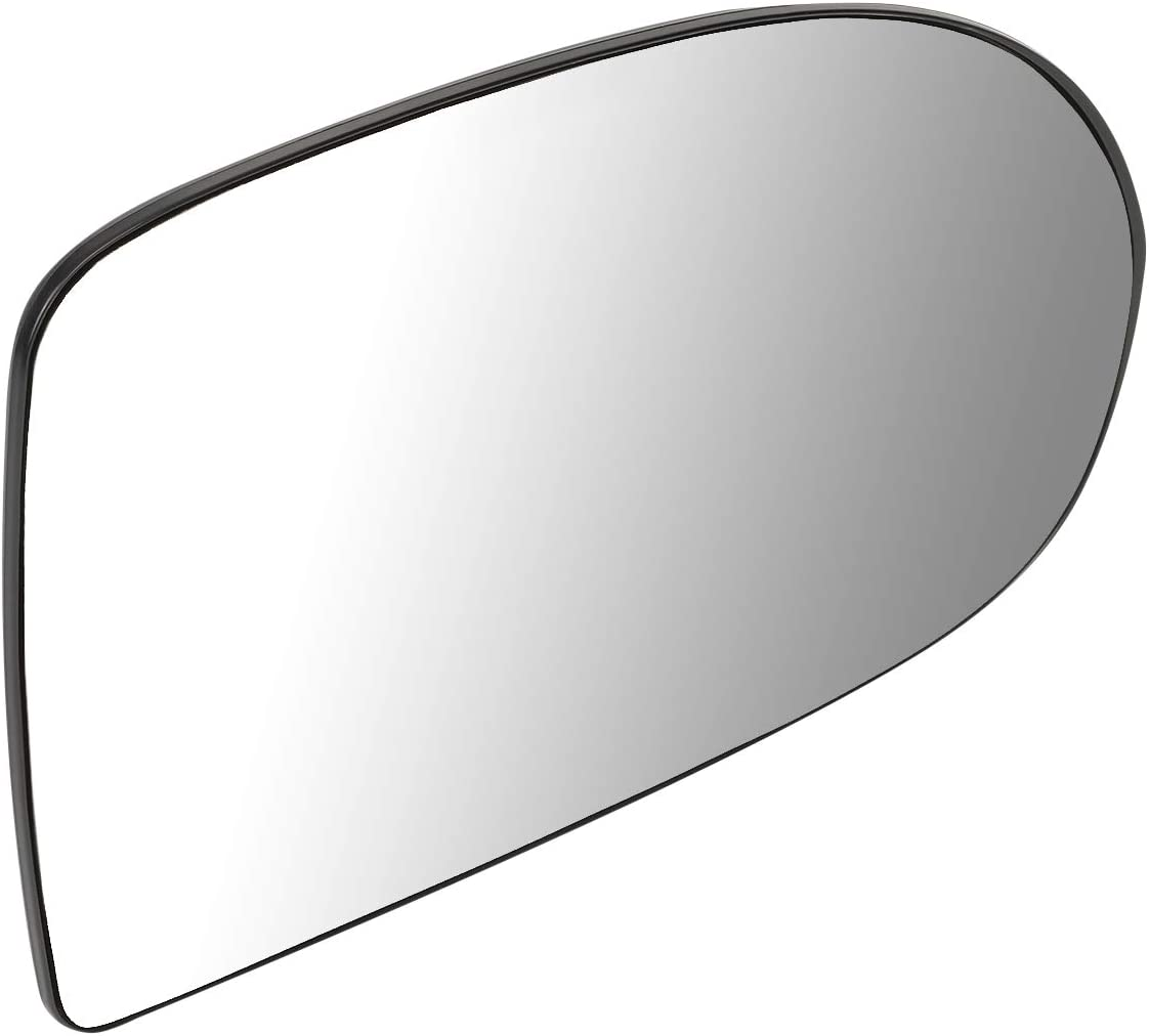 DNA Motoring OEM-MG-0072 68000018AA Factory Style Right Side Mirror Glass