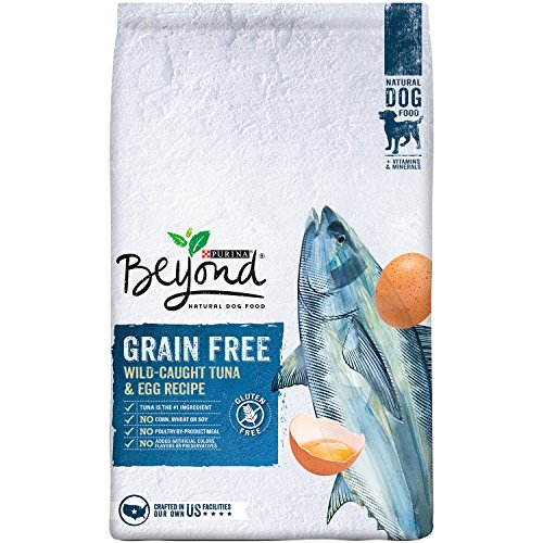 Purina Beyond Natural Dry Dog Food, Grain Free, Tuna and Egg Recipe, 13-Pound bag, Pack of 1