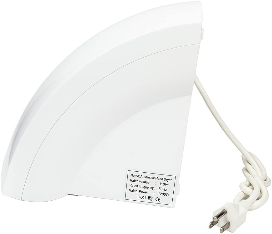 Archi Automatic Household Hotel Commercial Electric Hand Dryer for Bathrooms,Portable Waterproof Hand Dryer