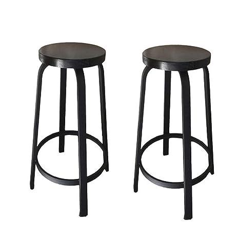 Incredible Amazon Com Xlcz Metal Bar Stool Set Of Two Bar Chairs Cjindustries Chair Design For Home Cjindustriesco