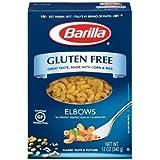 Barilla Gluten Free Elbows Pasta, 12 Ounce - 8 per case.