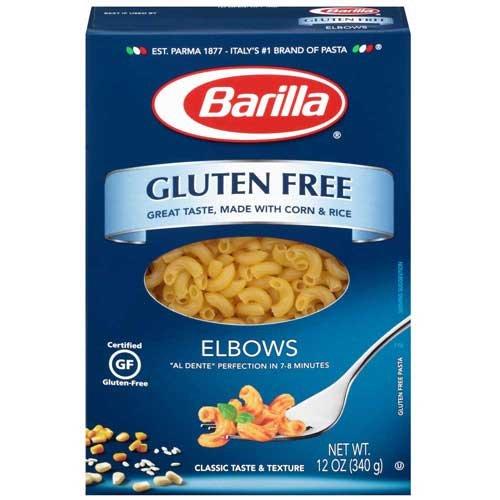Barilla Gluten Free Elbows Pasta, 12 Ounce - 8 per case. by Barilla