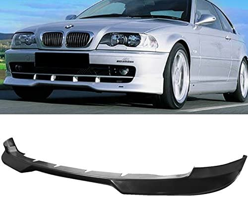 4PCS Front Bumper Lip Splitter Fins Body Spoiler Canards Valence for BMW E46