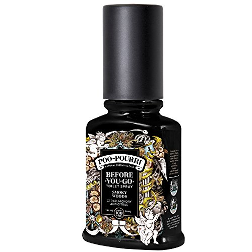 Poo-Pourri TH-002-CB Botella Rociadora para Inodoro Royal Flush, Smoky Woods Scent, 2 Oz