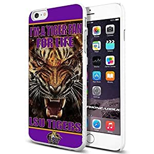 NCAA ISU Tiger football, Cool Case Cover For SamSung Galaxy S5 Smartphone Collector iphone PC Hard Case White [By PhoneAholic]