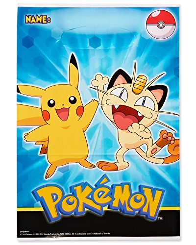 Space Themed Party Costume Ideas (Pokemon Treat Bags (8 Count))