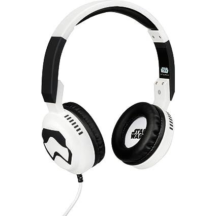 Amazon.com: Star Wars TFA Storm Trooper Foldable Headphones ...