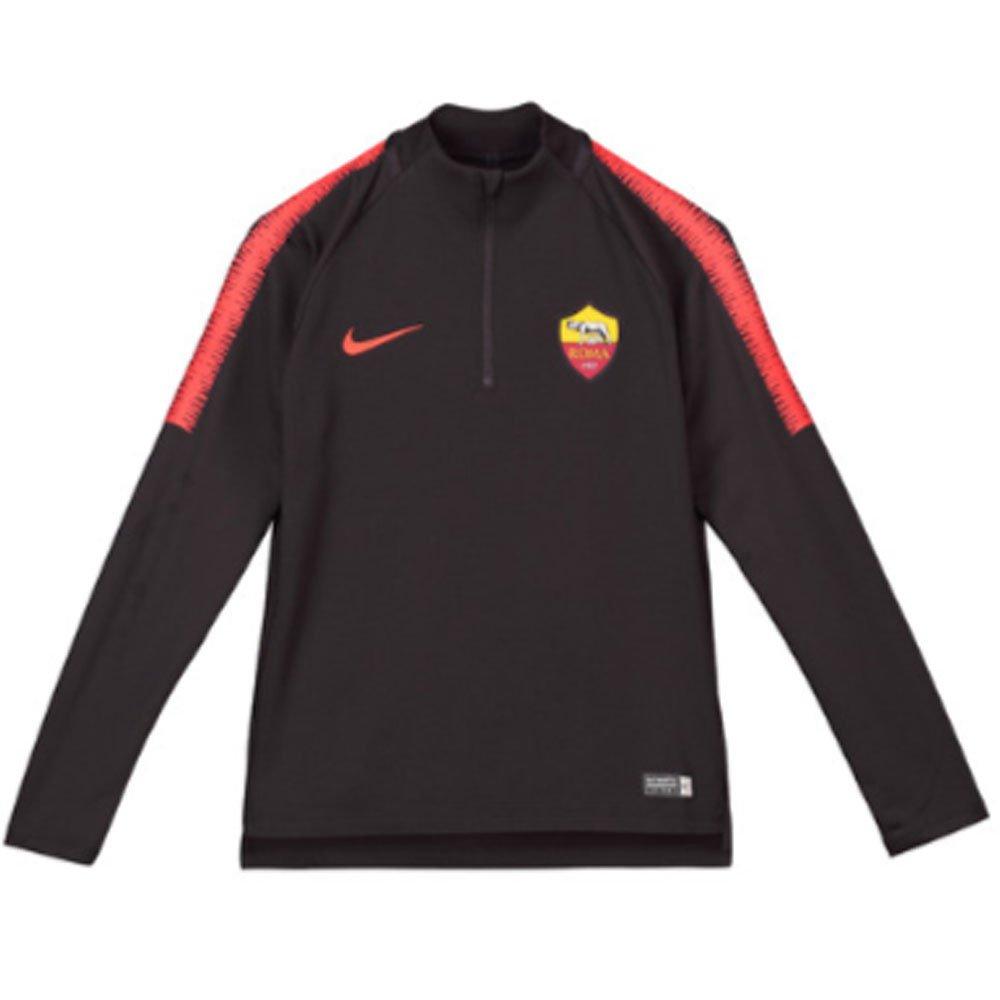 Nike 2018-2019 AS Roma Drill Training Top (Burgundy) - Kids
