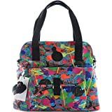 Kipling Pahneiro Tote or Croosbody Bag (Art Party Print)