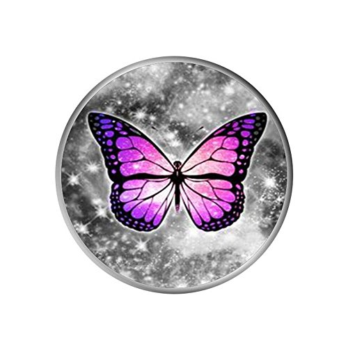 CZbobo Collapsible Mounts and Stands, Glitter Butterfly Expanding Pop Out Grip Mount Holder Sockets for iPhone X, Galaxy S9,all Cellphones and - Pop Out Glitter