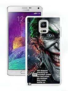 Check Monsters Under Bed Joker Quote White Samsung Note 4 Case,personalized design together with Excellent protection