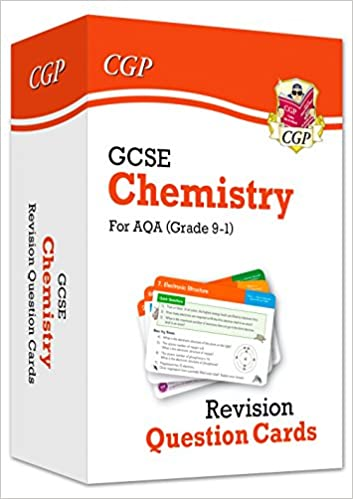New 9-1 GCSE Chemistry AQA Revision Question Cards (CGP GCSE