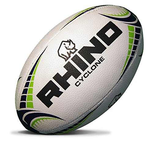 (Rhino Rugby Cyclone Training Rugby Ball - Size 5)