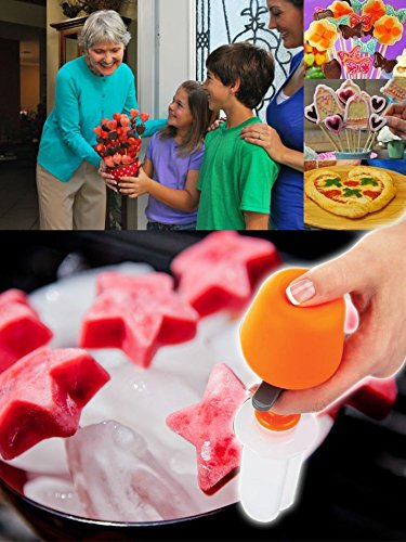 Fruit Shaper - Fruit Salad Carving Vegetable Fruit Arrangements Smoothie Cake Tools Kitchen Dining Bar Cooking Accessories Supplies Products - Fruit Shaper Cutter]()