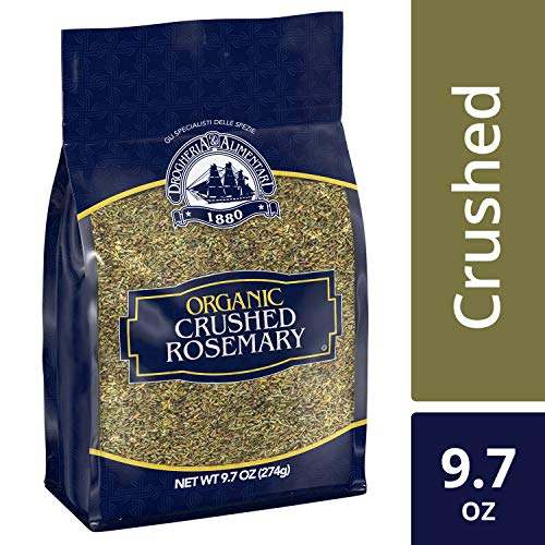 - D&A Organic Crushed Rosemary (Rosemary Leaf, Resealable, Bulk Bag), 9.7 oz