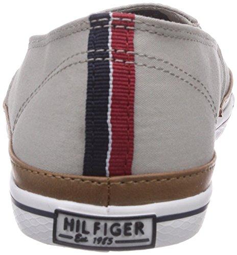 Tommy Hilfiger KESHA 7D - Zapatillas de casa de lona mujer gris - Grau (MID GREY 099)