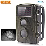 Best Guarder Trail Hunting Cameras Motion Detector Night Vision 65 Feet 34 Leds Action Sports Video Surveillance Wild Trail Camera 12MP 720P Waterproof Outdoor Wide Angle