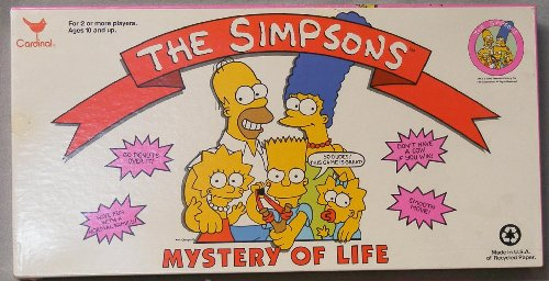 (Simpsons Mystery of Life Game by Wood Expressions)