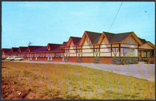 Hotel Motel Ste-Marie Alma Quebec postcard 1964 from The Jumping Frog