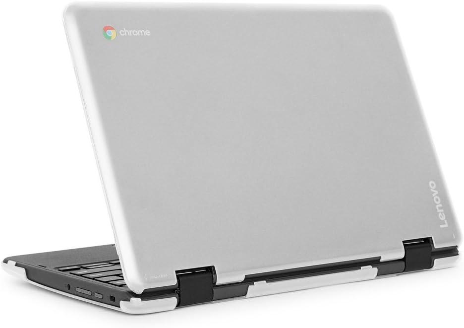 """mCover iPearl Hard Shell Case for 2018 11.6"""" Lenovo 300E / Flex 11 Series 2-in-1 Chromebook Laptop (NOT Fitting Lenovo 300E Windows & N21 / N22 / N23 /100E / 500E Chromebook) (C300E Clear)"""