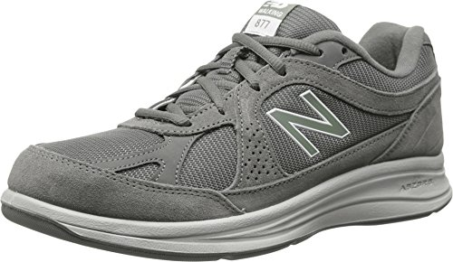 New Balance Men's MW877 Walking Shoe, Grey, 11 D US -