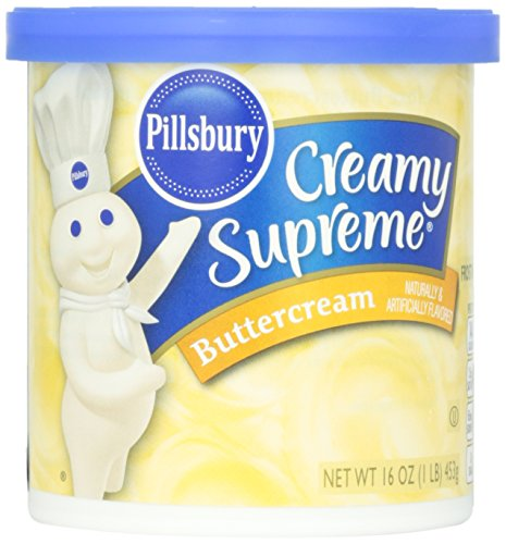 Pillsbury Creamy Supreme Buttercream Frosting 16 oz