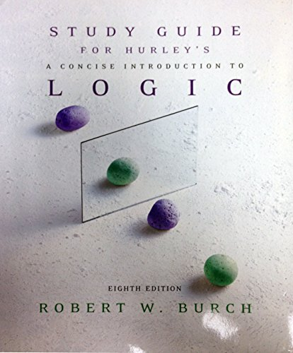 logic study guide Once people have seen that something happens through observation, sooner or  later it will occur to them to ask why it happens and is there.