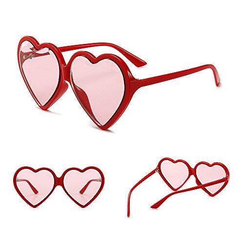 Peggy Lunettes en de Colorée de Forme C2 Forme en Les en UV Femmes air Plein Couleur de Protection C6 lentille Cœur Voyage Gu Surdimensionnées Lady pour de rr5wqYf