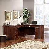 Sauder 413670 Palladia L-Shaped Desk, L: 68.74' x W: 65.12' x H: 29.61', Select Cherry finish