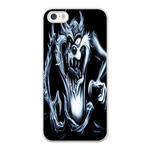 Coque,Coque iphone 5 5S SE Case Coque, Taz Cover For Coque iphone 5 5S SE Cell Phone Case Cover blanc
