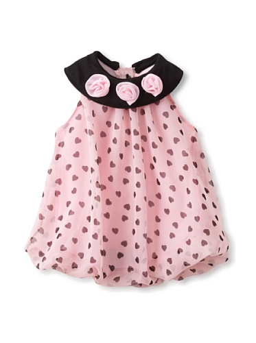Little Lass Baby Girls' Dot Bubble Dress