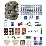 Combo Survival Kit Four For Earthquakes, Hurricanes, Floods, Tornados, Emergency Preparedness
